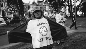 WRAP Director Paul Boden denounced corporate landowners who let buildings sit empty in areas where homelessness is on the rise. Photo by Carol Harvey