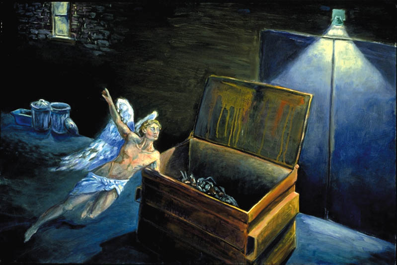 """Dumpster Dive"" Art by Jonathan Burstein"