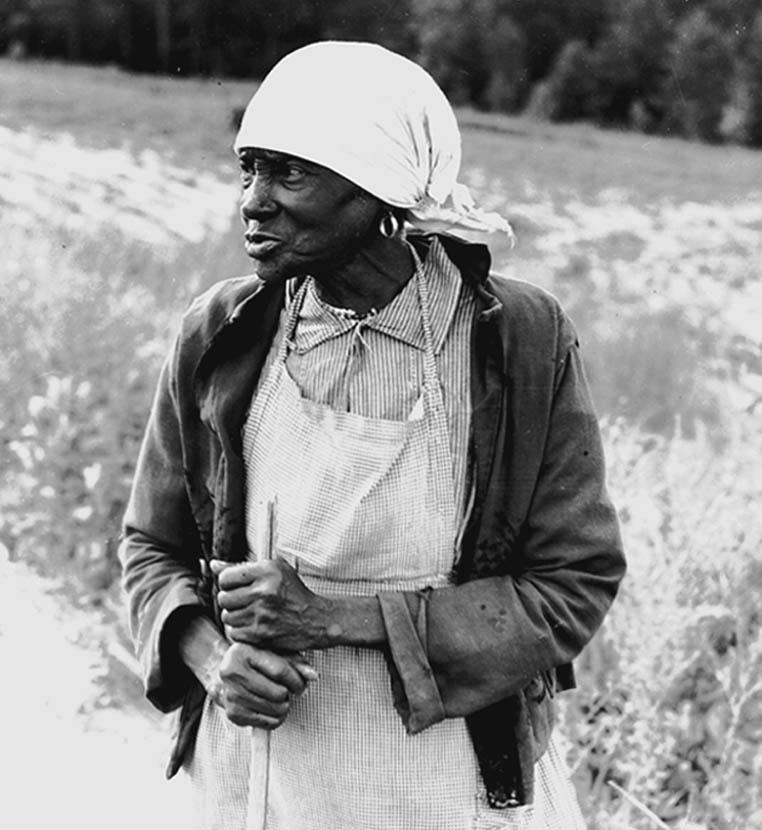 """Ex-Slave with long memory,"" Alabama. Dorothea Lange photo"