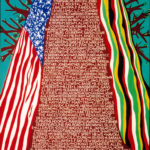 "Freedom Tree"" was created in honor of all those who took a stand and contributed to the freeing of Africans and Americans from oppression, discrimination, apartheid and racism. Painting by Arnold White"