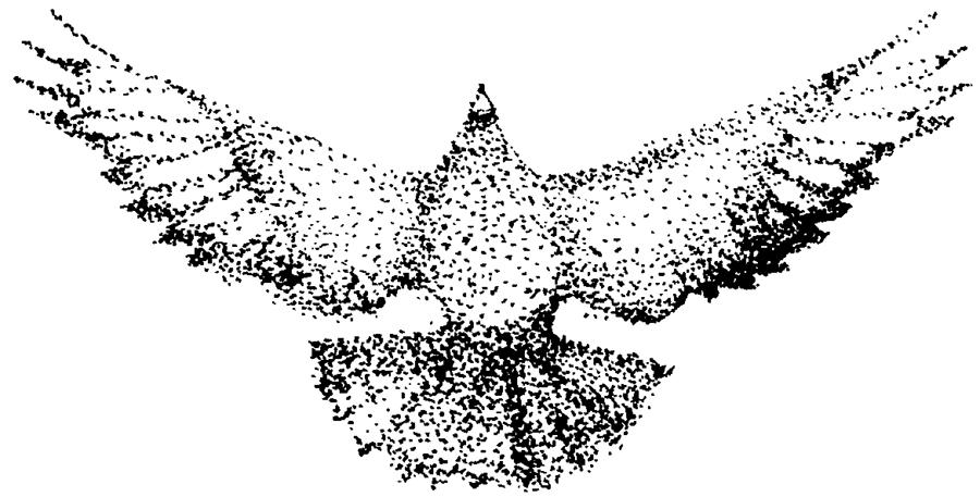 The spirit takes flight. Art by Christa Occhiogrosso
