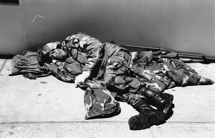 Many veterans return home and end up living on the streets. Robert L. Terrell photo