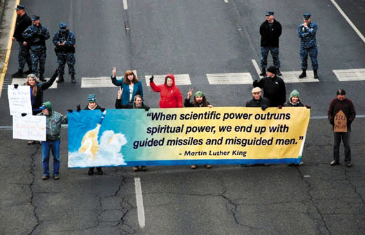 """""""When scientific power outruns spiritual power, we end up with guided missiles and misguided men."""" — Martin Luther King"""