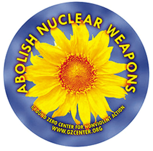 Abolish Nuclear Weapons. Courtesy Ground Zero Center