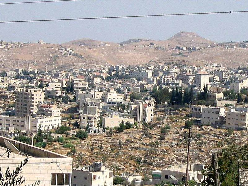Beit Sahour, the traditional site of the shepherds' field in Luke's Gospel, is a Palestinian town that became an example to people across the globe of the refusal to cooperate with their own oppression.  Photo: Iseidgeo