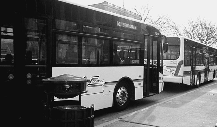 Many bus passengers in Oakland say that too few buses go to poor areas and are often overcrowded and late much of the time.