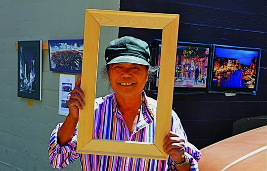 Framed. Although he is living a difficult life as a homeless vehicle dweller in San francisco, he adamantly rejects the notion that he is a homeless person. in his mind, he is a misunderstood, highly principled artist. Robert L. Terrell