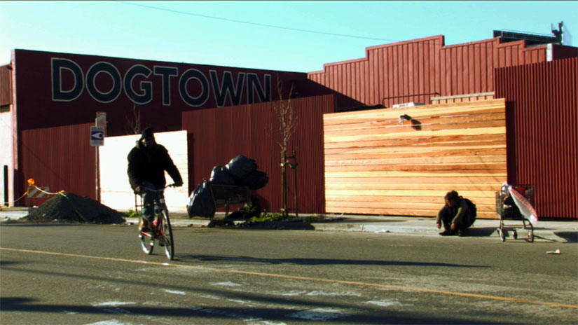 Life on the streets of Dogtown, an area in West Oakland where the film Dogtown Redemption is set.