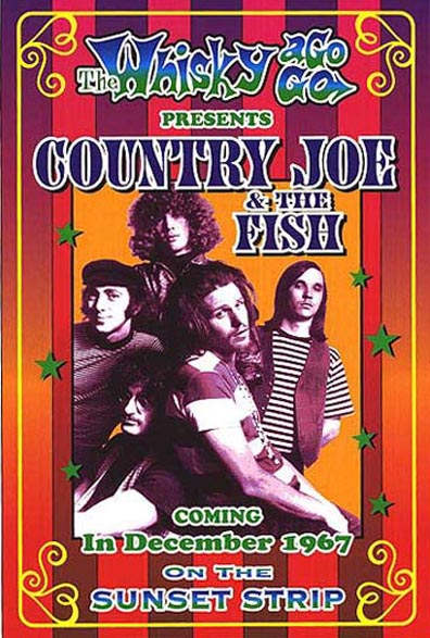 Country Joe & The Fish were one of the major psychedelic bands of the 1960s.