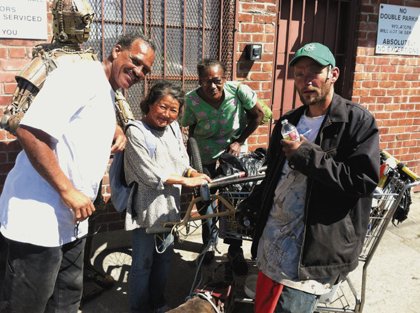 Dogtown Redemption is a film documentary that shows the difficult struggles faced by the community of recyclers who attempt to survive by hauling their recyclables to Alliance Metals in West Oakland, a recycling center now facing closure.