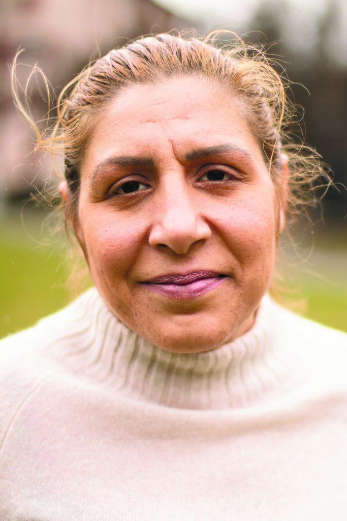 photograph of a smiling Alunita Nicola