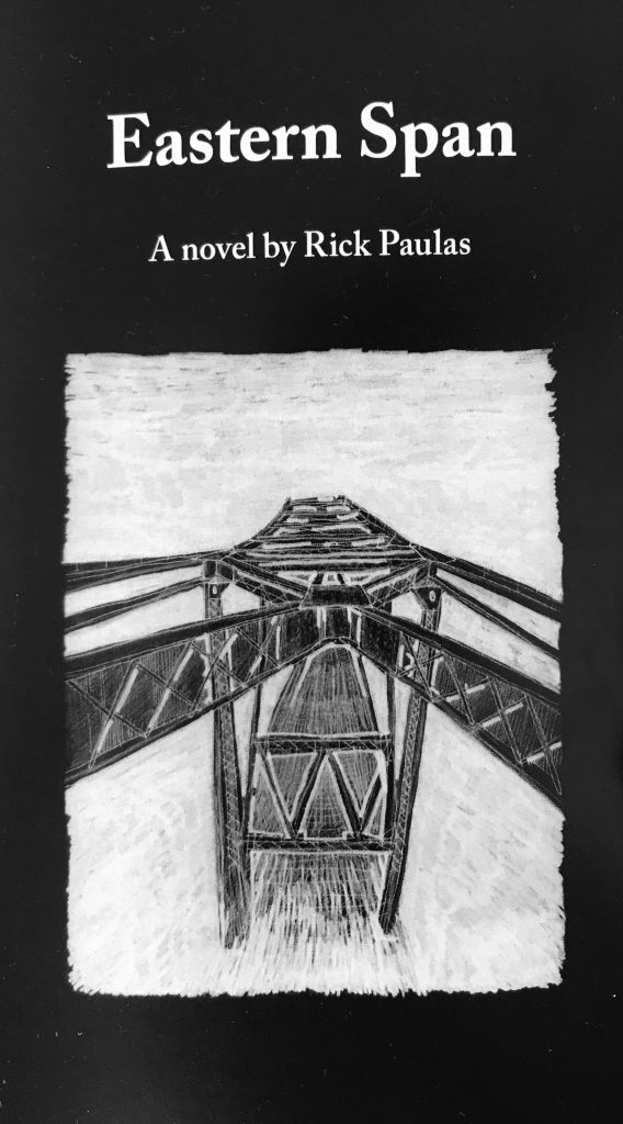 The front cover of Paulas' novel, Eastern Span.