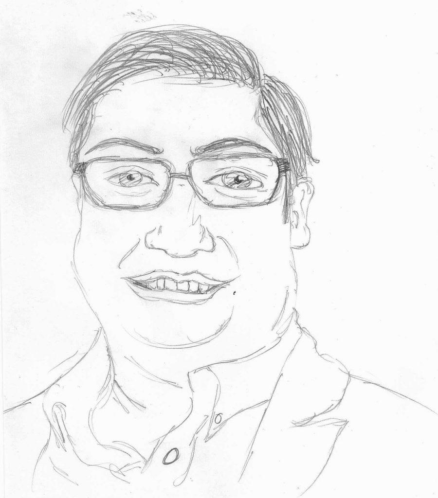 A portrait of Mayor Arreguín.